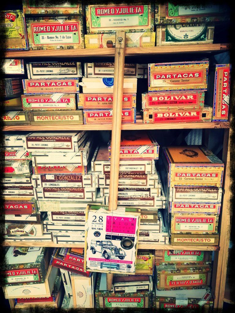Box Guitars et boites à cigares